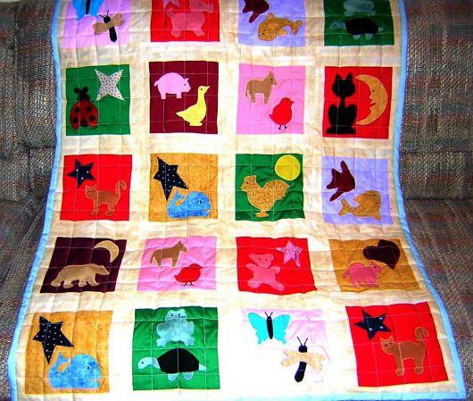 Лоскутное одеяло идея 2