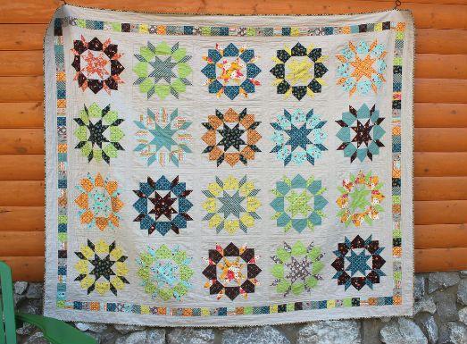 Лоскутное одеяло идея 6