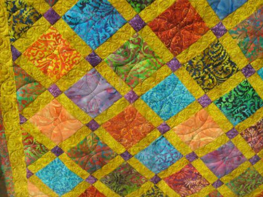 Лоскутное одеяло идея 7