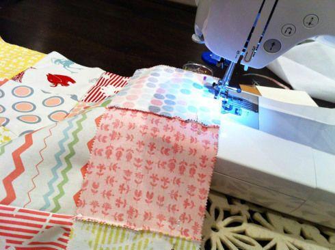 Лоскутное одеяло шаг 2