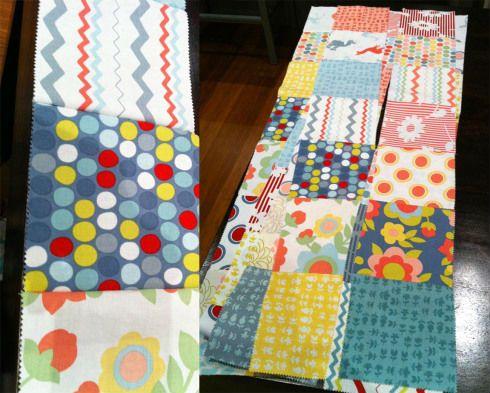 Лоскутное одеяло шаг 3
