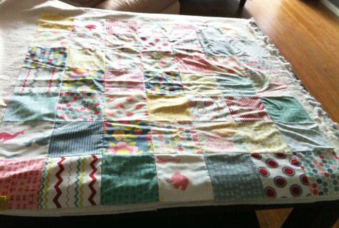 Лоскутное одеяло шаг 4