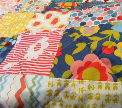 Лоскутное одеяло шаг 5