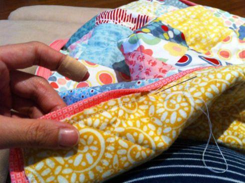 Лоскутное одеяло шаг 7