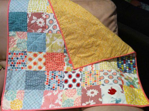 Лоскутное одеяло шаг 8