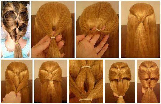 Плетение косичек на средние волосы 1