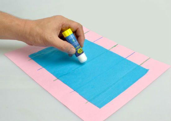 Помпон из бумаги способ 1 шаг 5