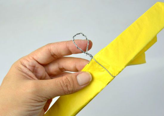 Помпон из бумаги способ 2 шаг 6