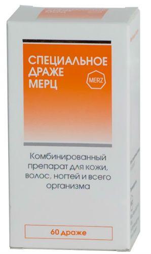 Витамины для волос Мерц