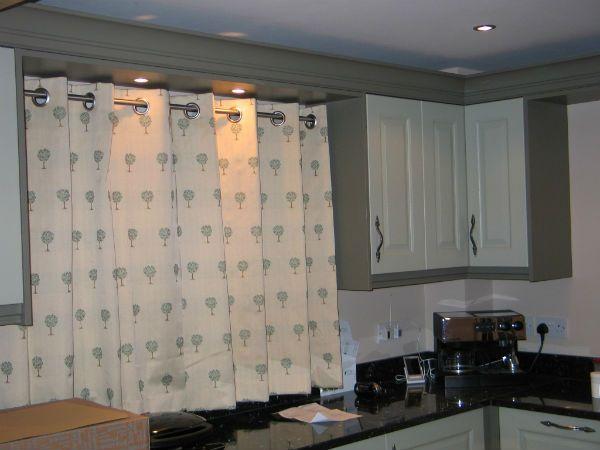 Идеи пошива кухонных штор 4