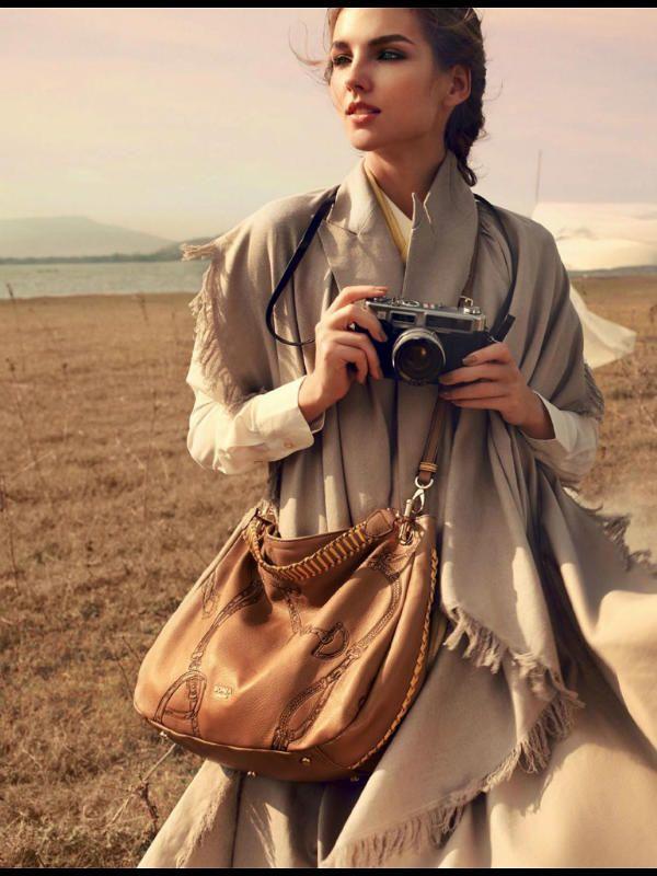 Девушка в стиле сафари фото