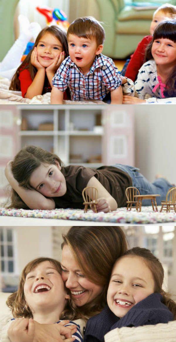 Фотосессия детей дома фото