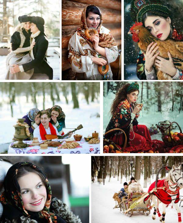 Русская зима фото
