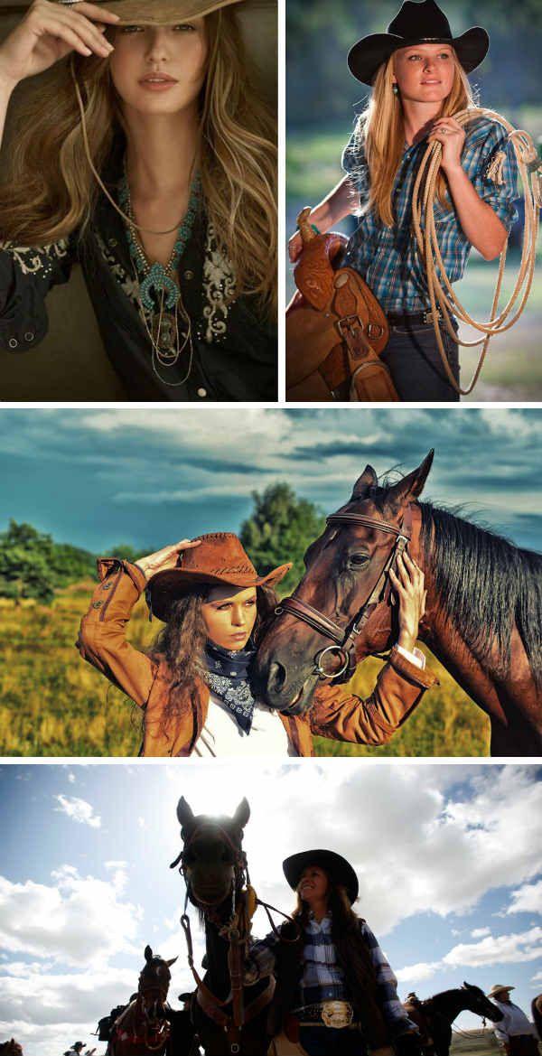 Девушки в ковбойском стиле фото