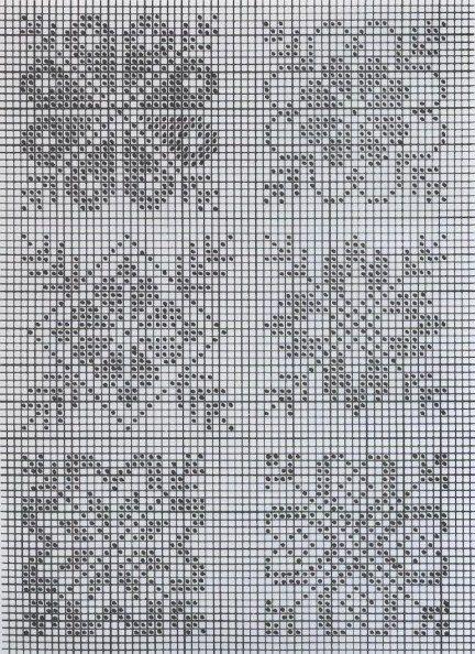 Филейный узор фото