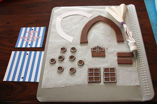Отдельно создаем украшения для торта фото