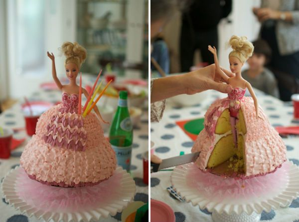 Готовая кукла торт фото