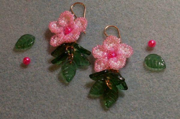 Готовые цветы сакуры фото