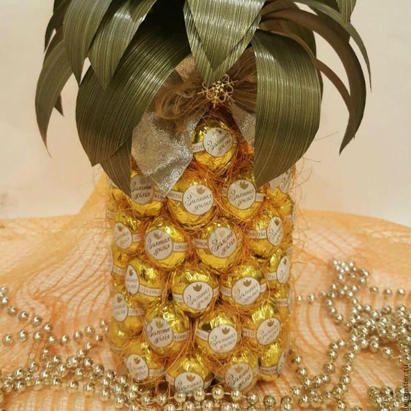 Готовый ананас фото