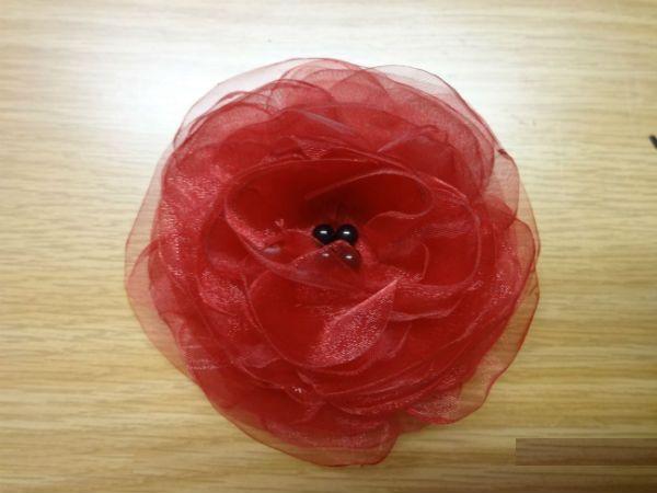 Готовый махровый цветок  фото