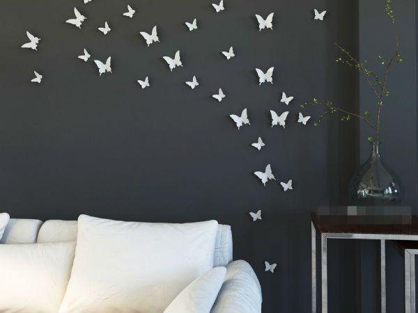 Маленькие бабочки на стену фото