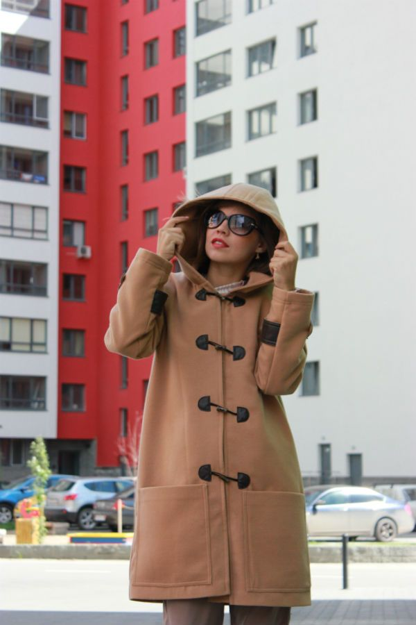 Пальто Дафлкот фото