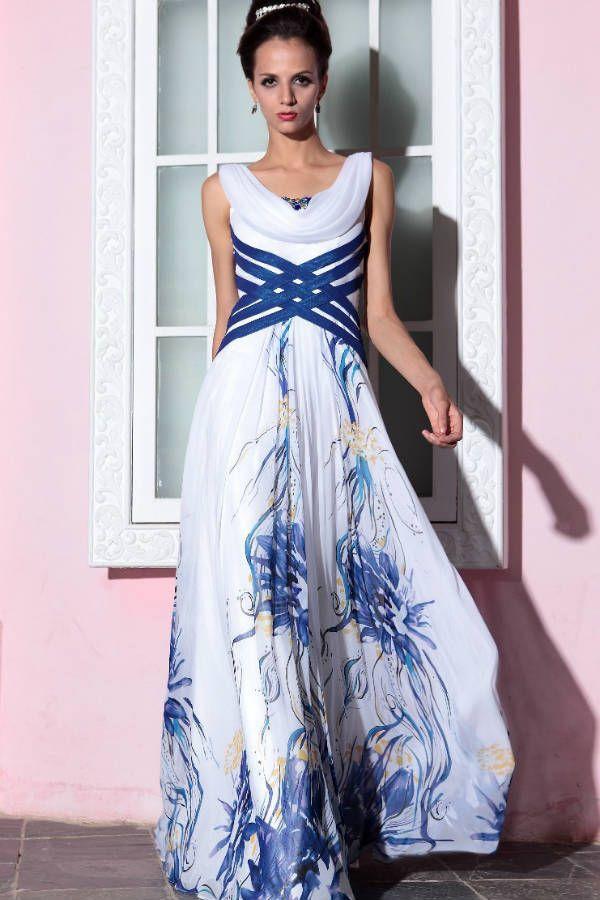 Платье с абстрактным принтом фото