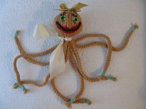 Игрушка осьминог фото