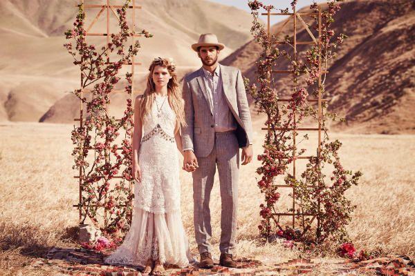 Свадебный бохо-шик фото