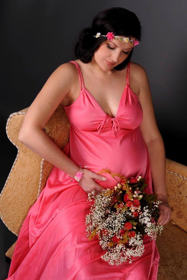 Нежная идея для беременных фото