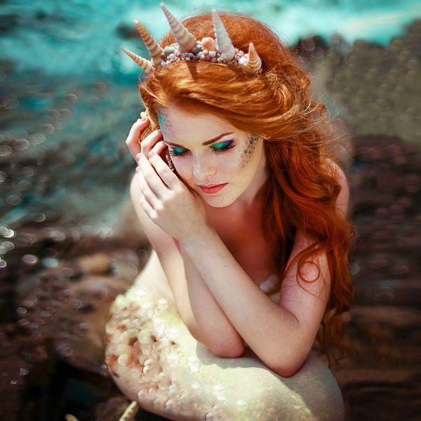Красивая русалка фото