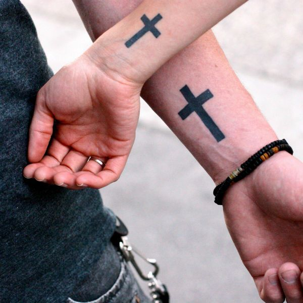 Тату кресты фото