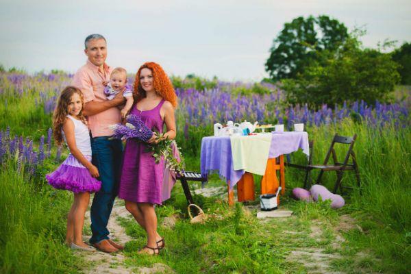 Семейная фотосессия фото