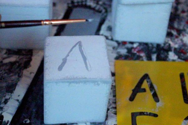 Рисуем буквы фото