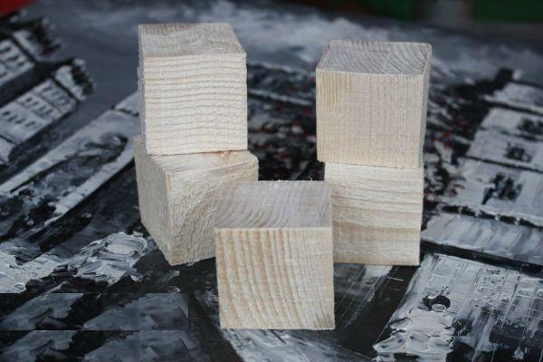 Заготовки для кубиков фото