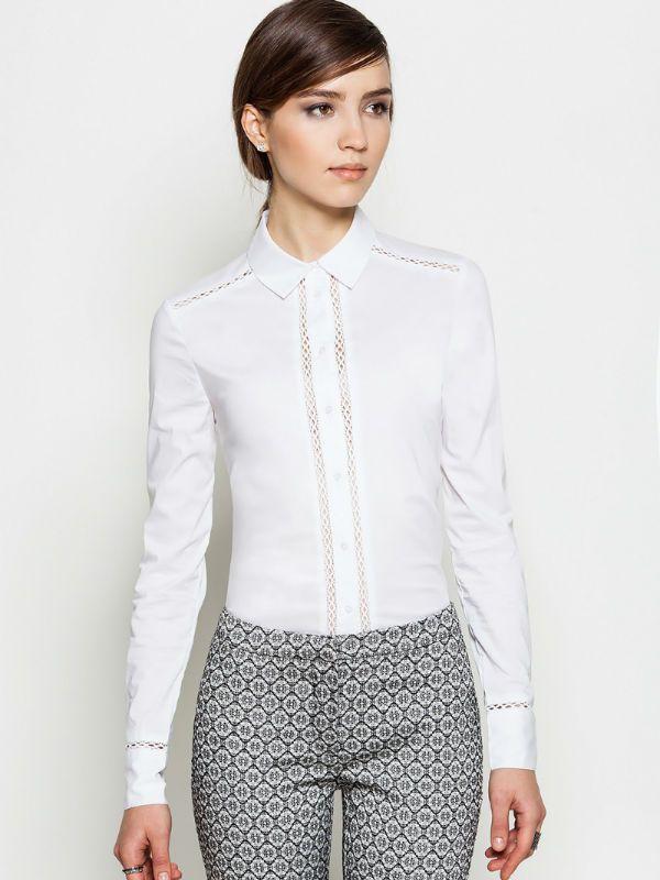 Блуза по типу мужской рубашки фото