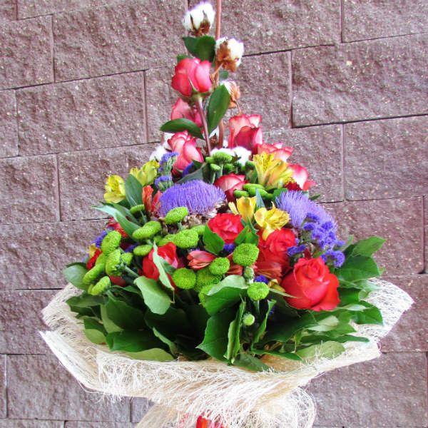 Букет из хризантем 2 фото