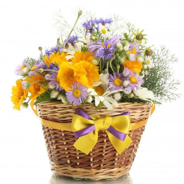 Букет из полевых цветов 2 фото