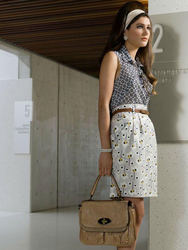 Летняя сумка в деловом стиле фото