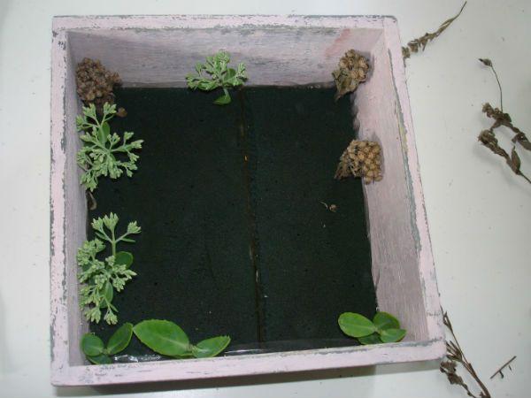 Коробка с цветами 3 фото