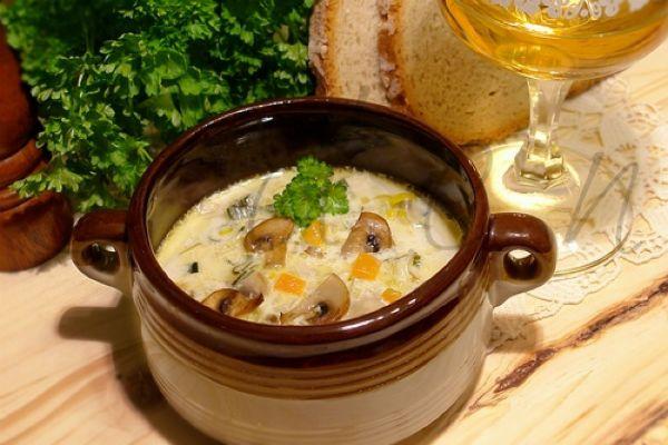 Немецкий сырный суп фото