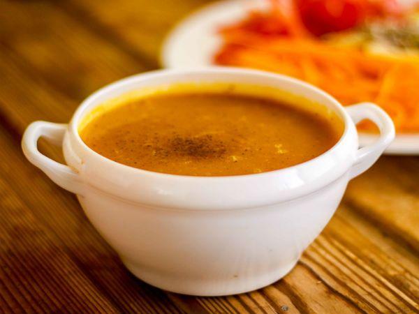 Овощной суп пюре фото