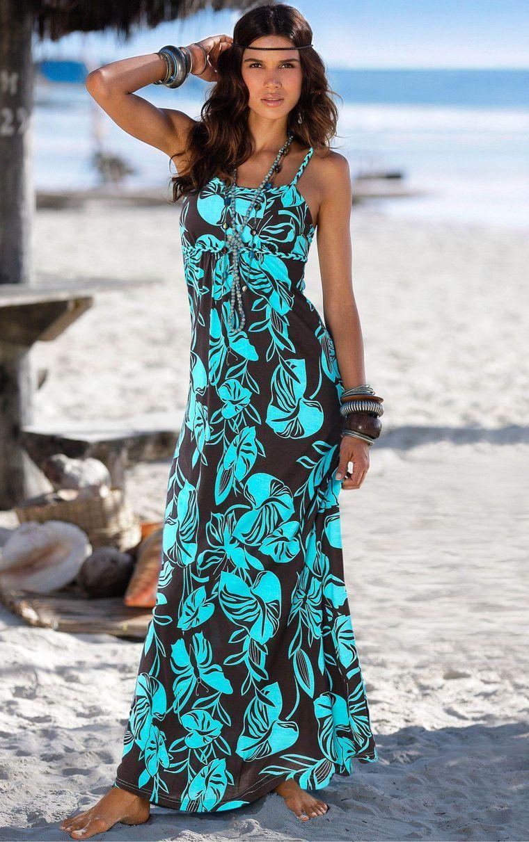 Пестрое платье фото