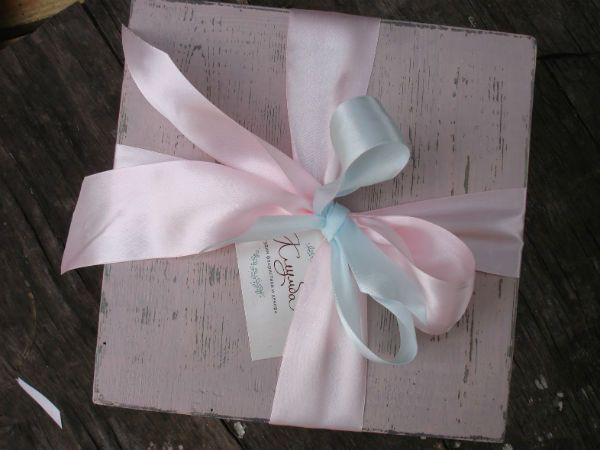 Коробка с цветами 8 фото