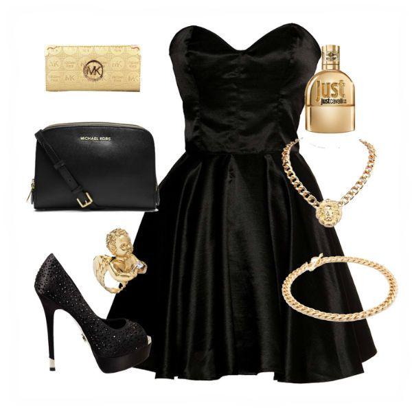 Аксессуары под черное платье 20 фото