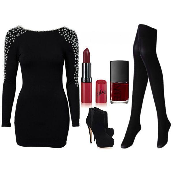 Аксессуары под черное платье 25 фото