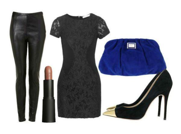 Аксессуары под черное платье 40 фото