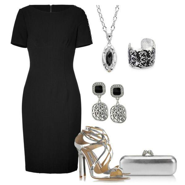 Аксессуары под черное платье 66 фото