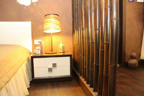 Бамбуковые перегородки фото