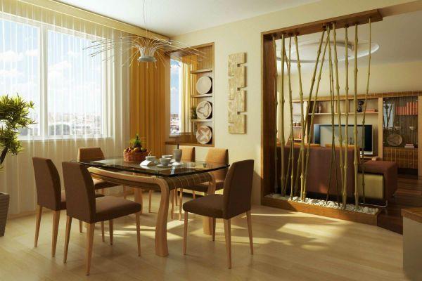 Бамбуковые перегородки 4 фото